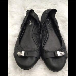 Coach flats Black Leather 6